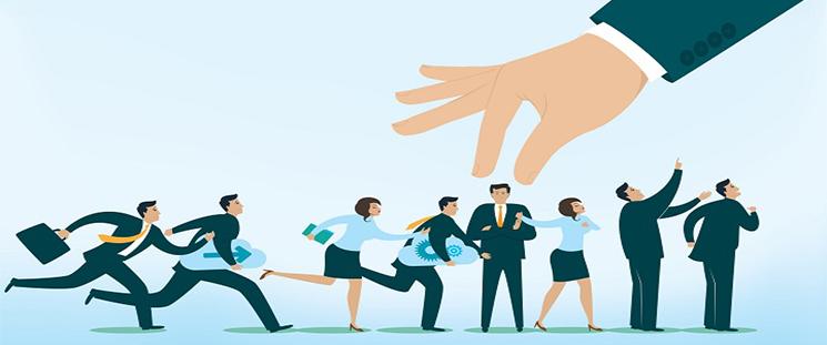 عوامل مؤثر بر استخدام نیروی انسانی (کارمند یابی)